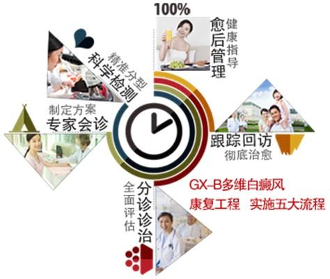 5大康复流程——GX-B立体治疗,彻底治愈白癜风